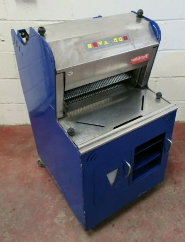 Wabama 460.10 Signa Elektronik Automatic 10mm Rye Bread Loaf Slicer Bakery 1PH